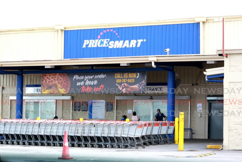 The Pricesmart Shopping Members' Club has been restricted for shopping operations after being included to the latest revision of the Public Health Ordinance Act, outlining the current measures to prevent the spread of the coronavirus. Pricesmart Members' Club, Mausica Main Road, Mausica. Photo by Roger Jacob