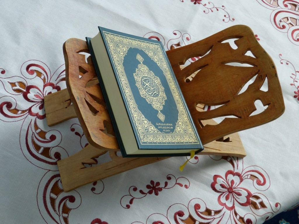 For Muslims, the Qur'an is a  complete code of life. -