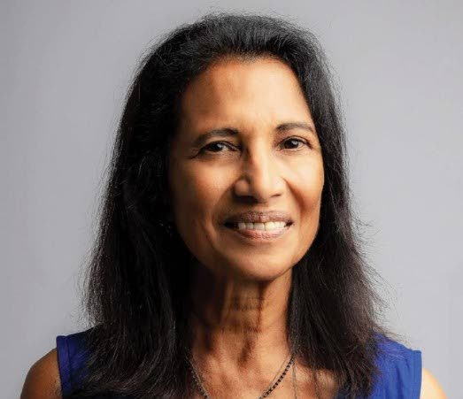 Trinidad-born scientist Dr Shakuntala Haraksingh Thilsted who was awarded the 2021 World Food Prize.