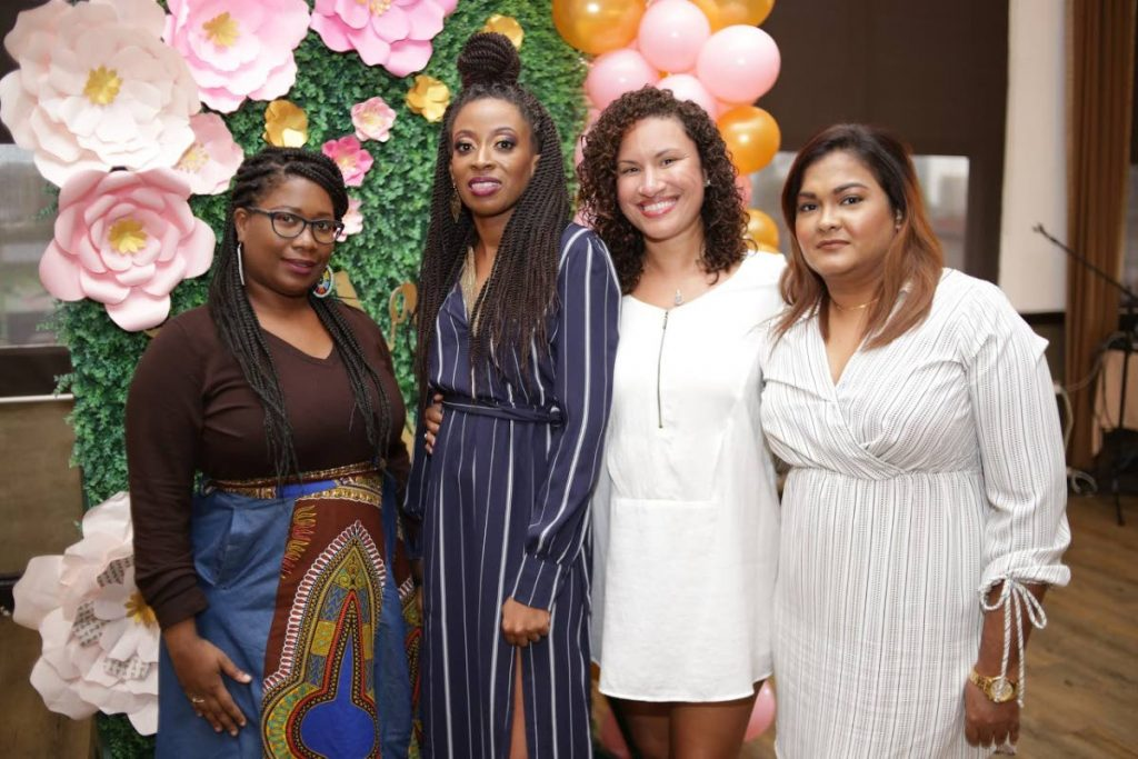 Ameniki Omotola, second from left, with female business owners at of her business brunches.