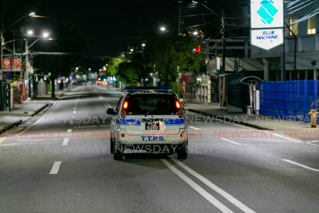 Police on patrol - Photo by  Jeff Mayers