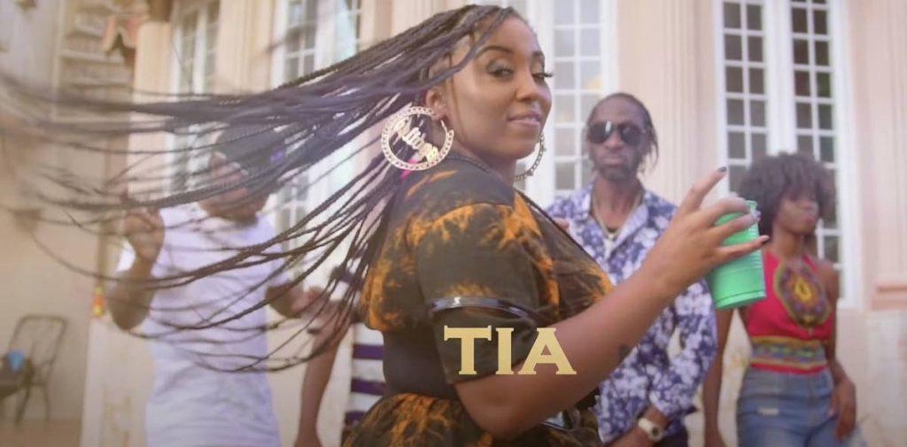 Reggae singer Tiara
