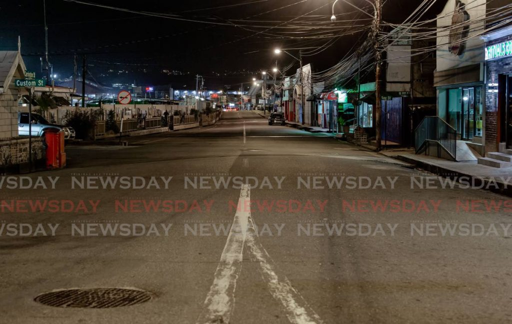 Carrington Street, Scarborough, is almost deserted. - David Reid