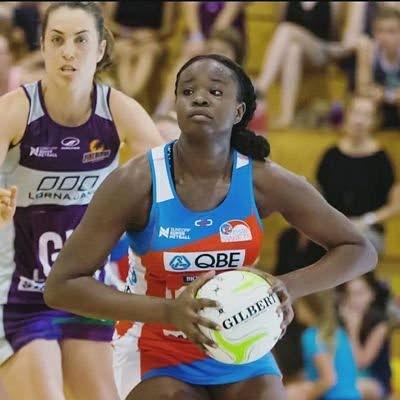 Trinidad and Tobago netballer Samantha Wallace -