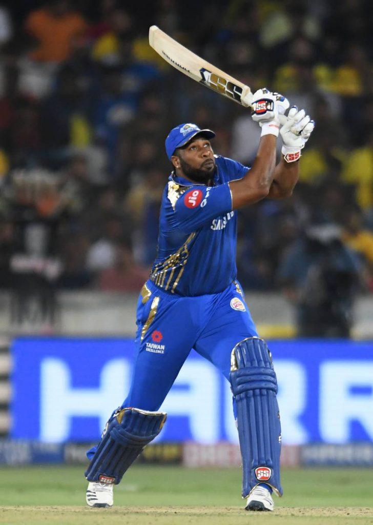 Mumbai Indians cricketer Kieron Pollard. -