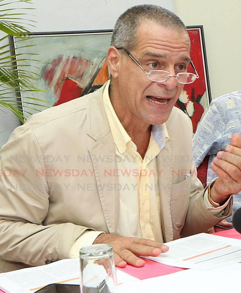 File photo: FFOS corporate secretary Gary Aboud