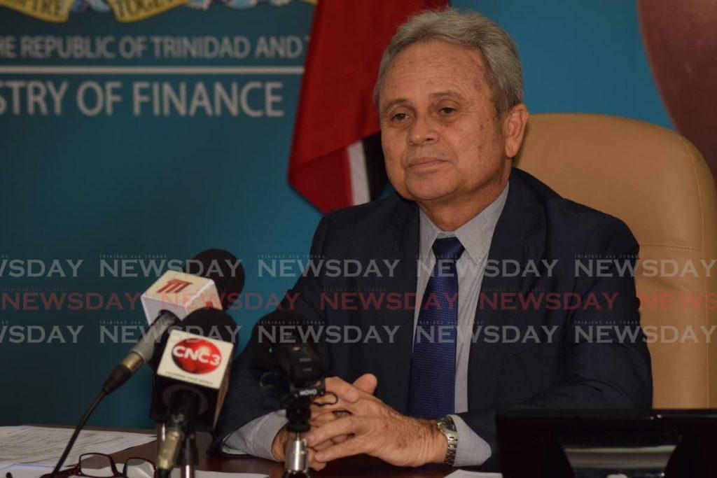 Finance Minister Colm Imbert
