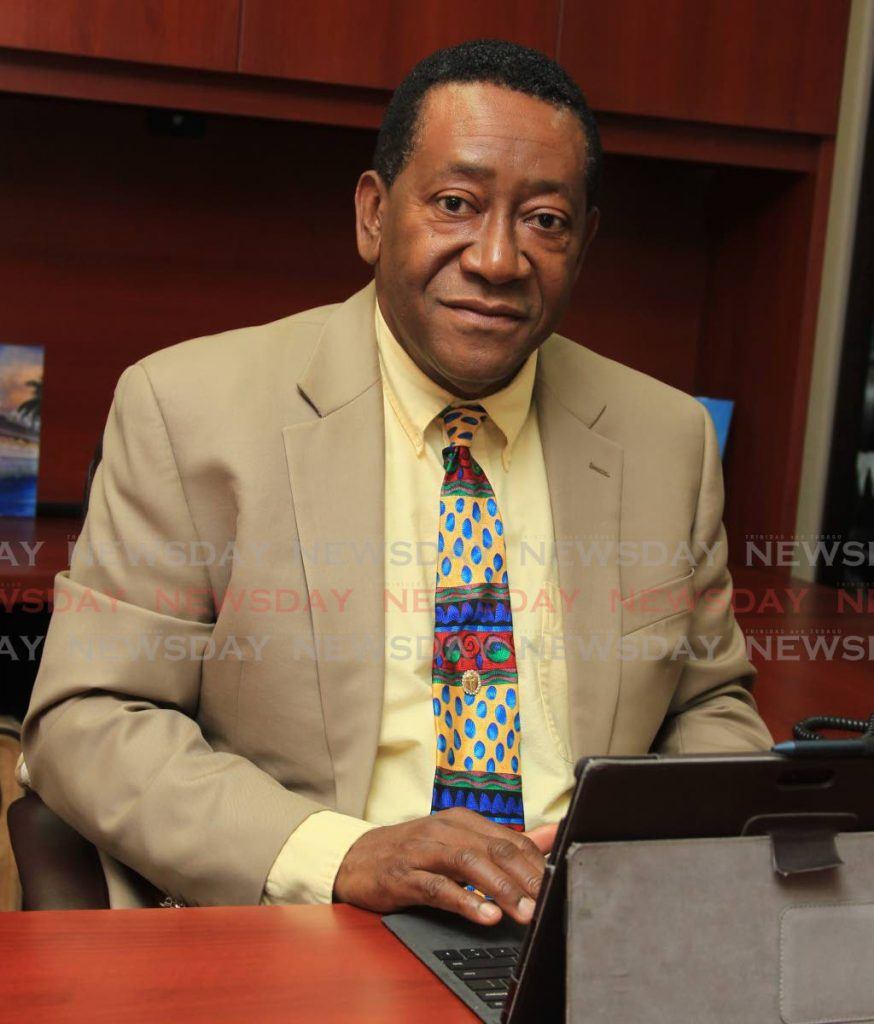 Tobago Business Chamber president Martin George  -