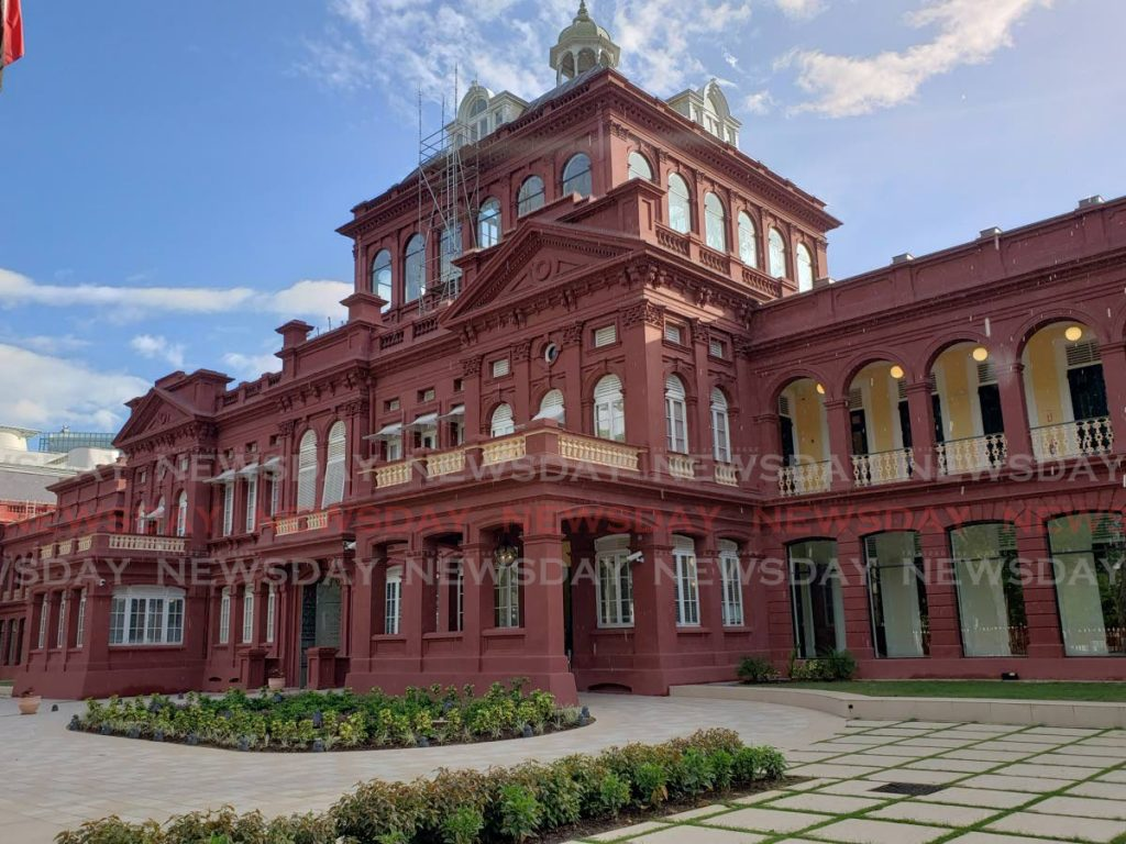 The Red House, the seat of Parliament. Photo by Roger Jacob