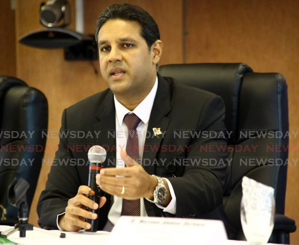 Chief Medical Officer Dr Roshan Parasram. Photo by Roger Jacob -