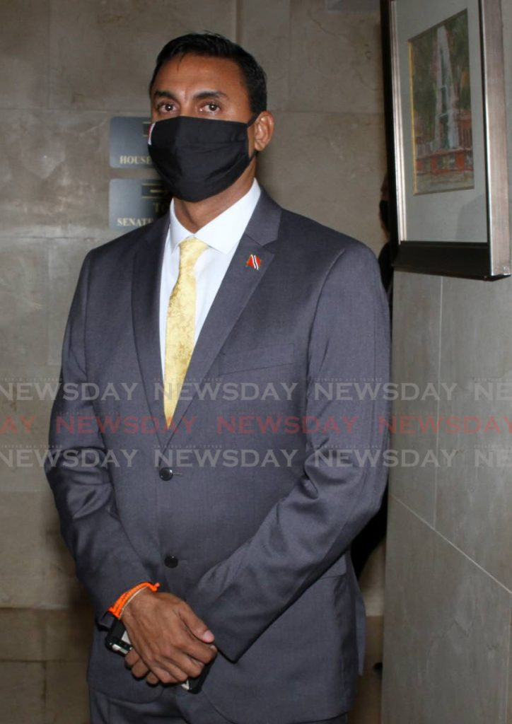Couva North MP Ravi Ratiram. Photo by Angelo Marcelle