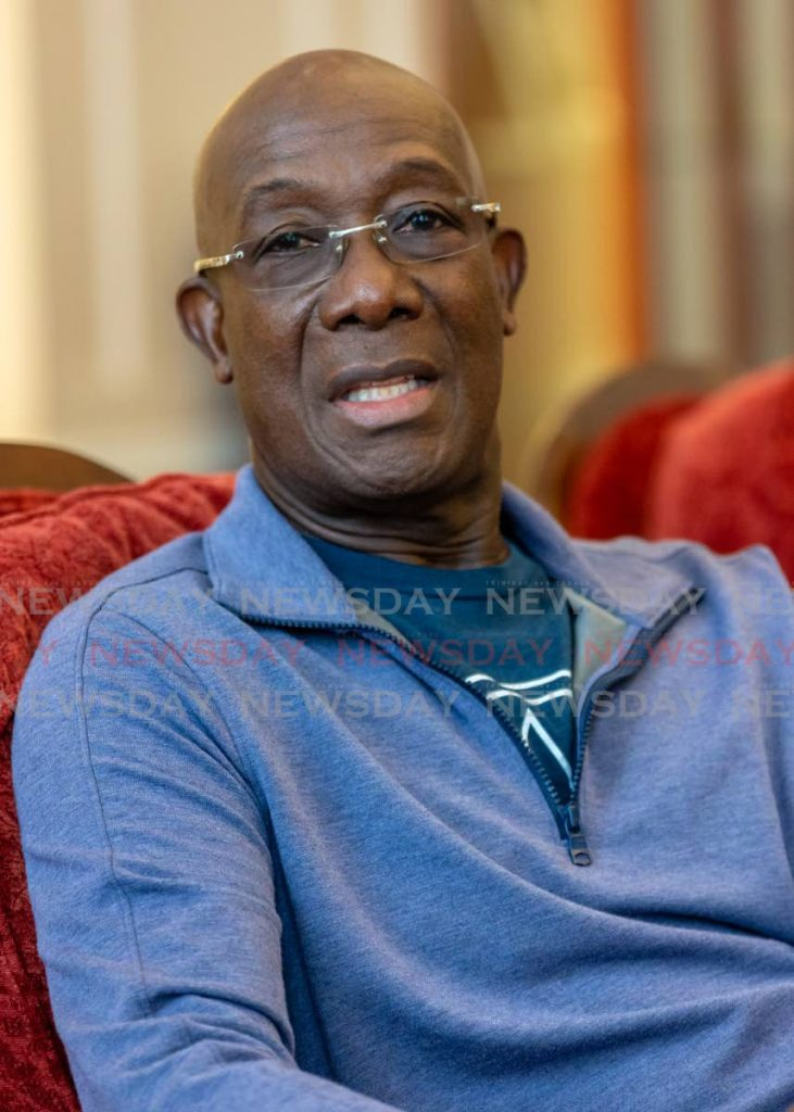 Prime Minister Dr Rowley - Jeff Mayers