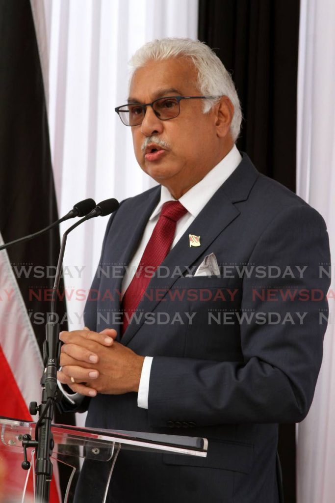 Minister of Health Terrence Deyalsingh - Photo by Angelo Marcelle