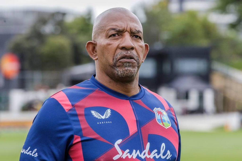 West Indies head coach Phil Simmons. - (AFP PHOTO)