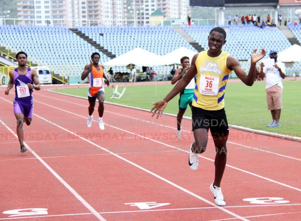 The NAAA has shifted its Olympic qualification meet to Monday. The event was due to take place on Sunday but due to the weekend curfew restrictions, the NAAA was forced to postpone the event.  - AYANNA KINSALE