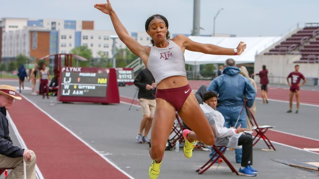 Trinidad and Tobago mulit-sport sensation and Texas A&M student-athlete Tyra Gittens. -