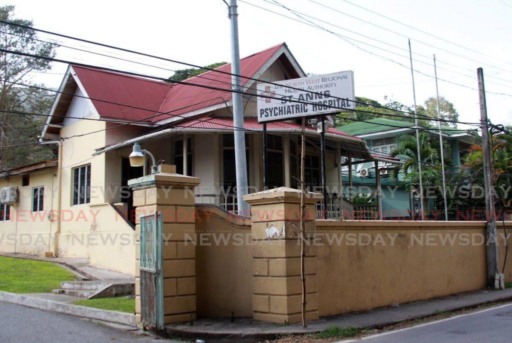 FILE PHOTO: The St Ann's Psychiatric Hospital -