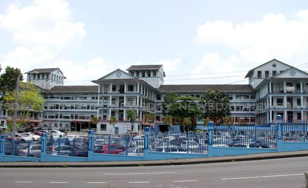File photo: The San Fernando General Hospital.  Photo by Ayanna Kinsale