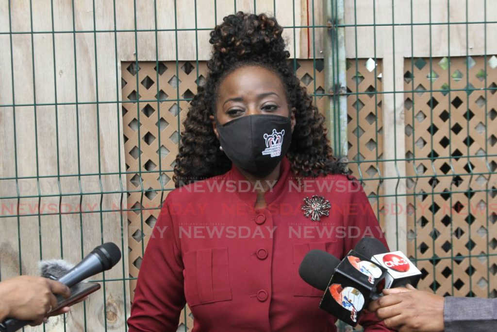 Social Development Minister Donna Cox - Marvin Hamilton