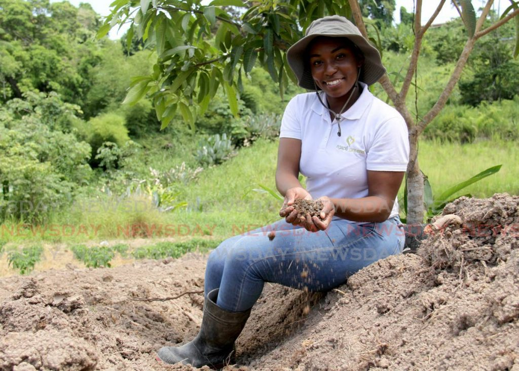 Shakeema Boatswain Frederick graduated from UWI St Augustine campus with a double major in geography and environmental and natural resource management, but she also had an interest in agriculture. - AYANNA KINSALE