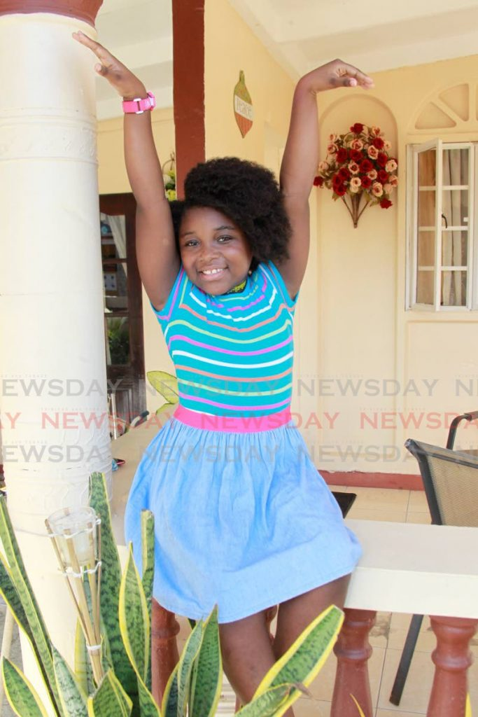 Jazmin Shortt is eight years old and she already knows that she wants to be an actress. - Roger Jacob