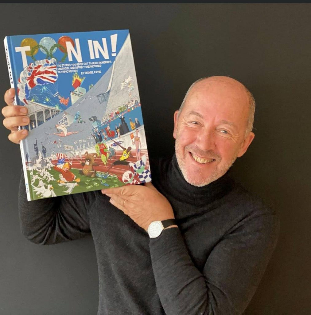 Michael Payne and his book Toon In -