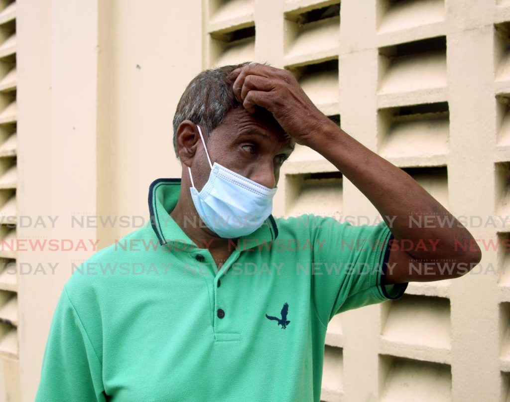Paul Joseph, the father of murdered maxi taxi driver Richard Joseph says he is fearful for his own life as criminals become more desperate - Photo by Sureash Cholai