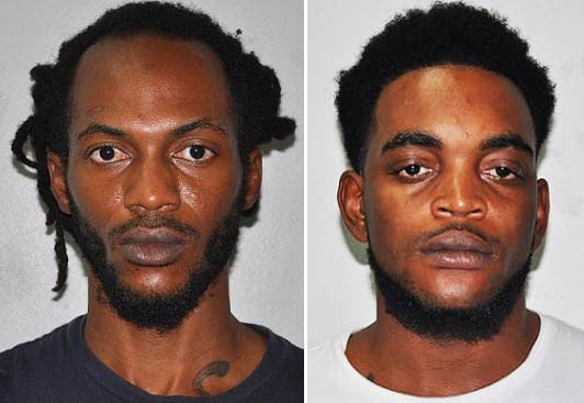 CHARGED: Arima brothers Kevon Sobers, left, and Kenroy Sobers who are both charged for beating and robbing their uncle. PHOTOS COURTESY TTPS - ttps