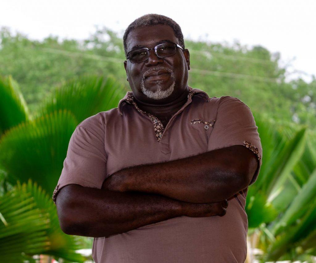 Tobago Football Association president Everton Alfred - DAVID REID