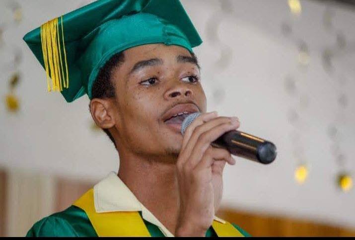 Signal Hill Secondary student Nickosy Waldron -