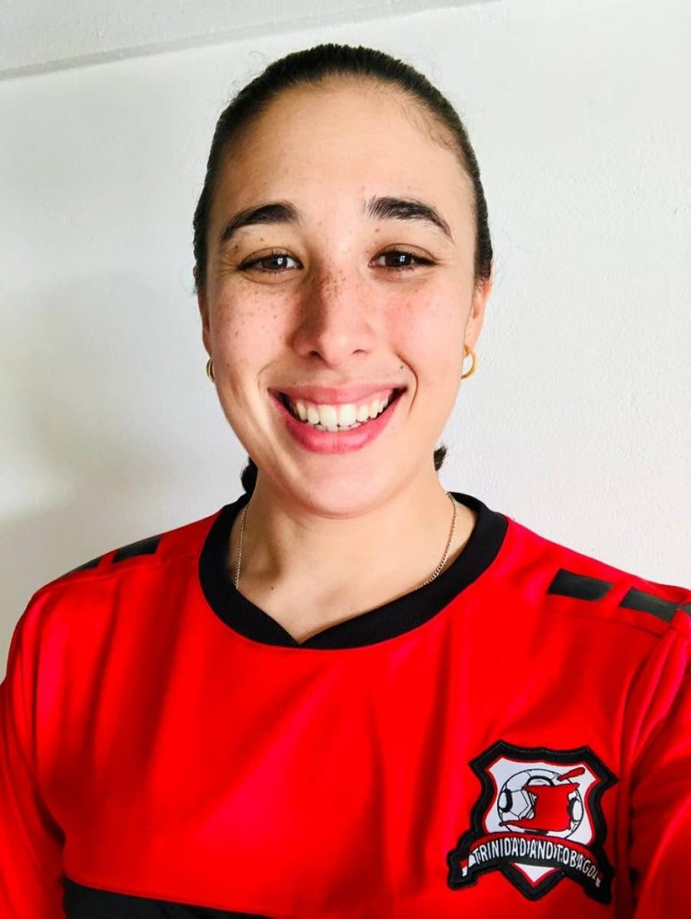 Newly appointed TTRFU women's rugby 15s assistant coach Alexandria Olton.  -