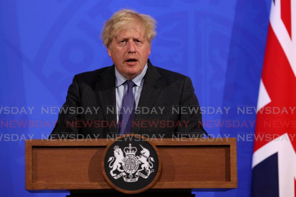 UK Prime Minister Boris Johnson. AP Photo - Jonathan Buckmaster