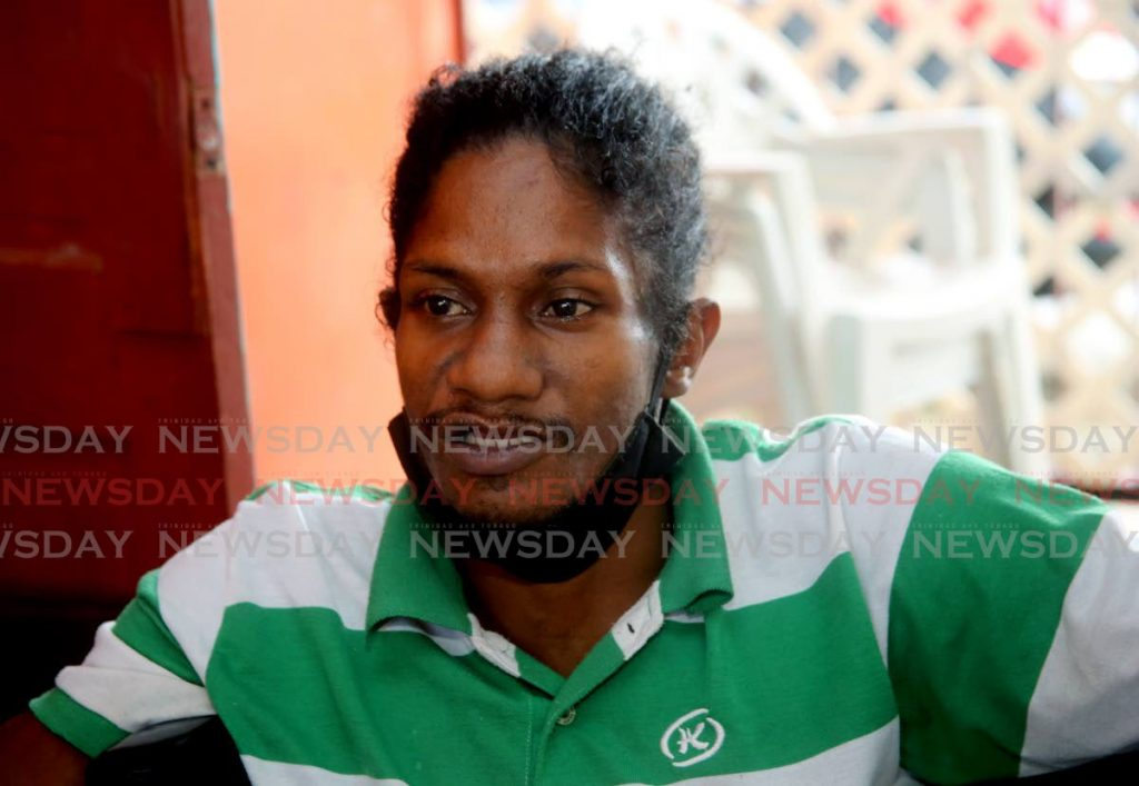 Carl Mc Intosh speaks with Newsday at his home. - SUREASH CHOLAI