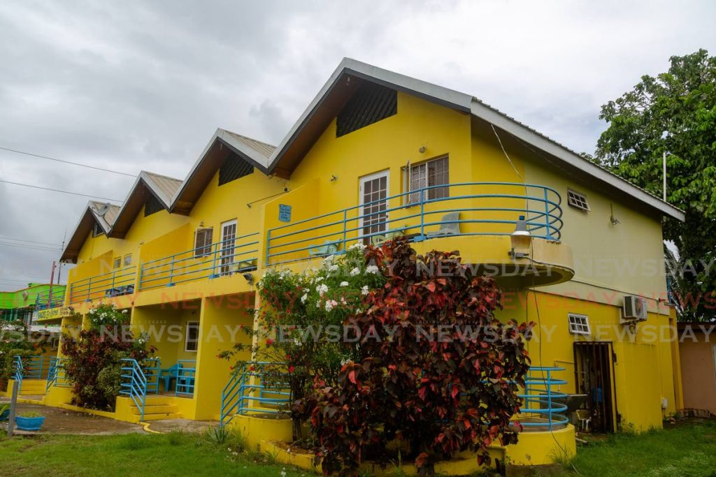 Crooks apartments in Crown Point, Tobago. Businessman Ronnie Ryan Crooks has sold the apartments. - DAVID REID