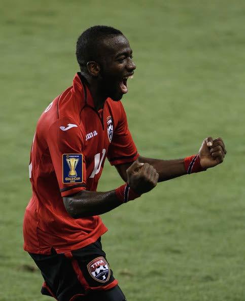TT midfielder Kevin Molino -