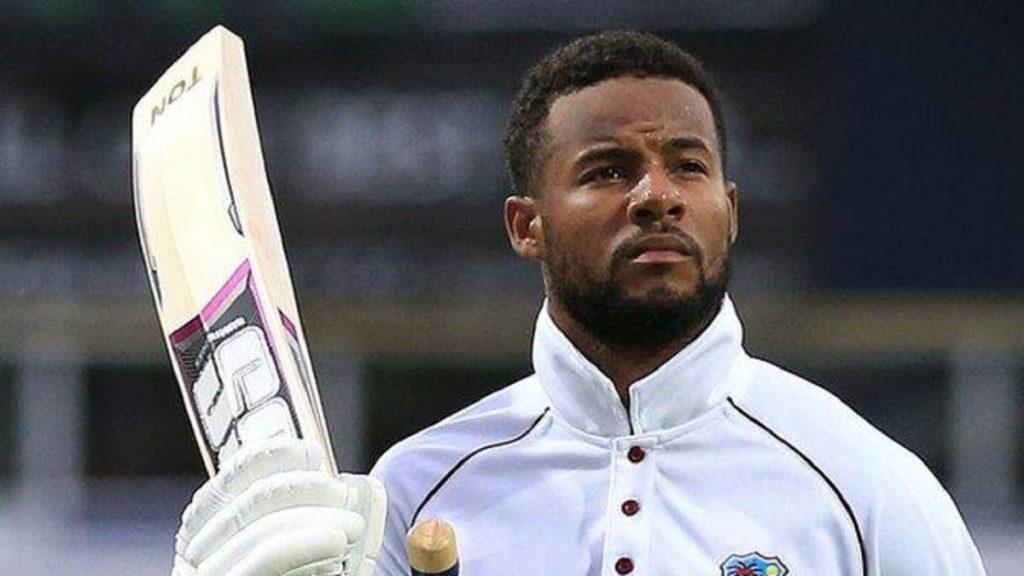 West Indies batsman Shai Hope  -