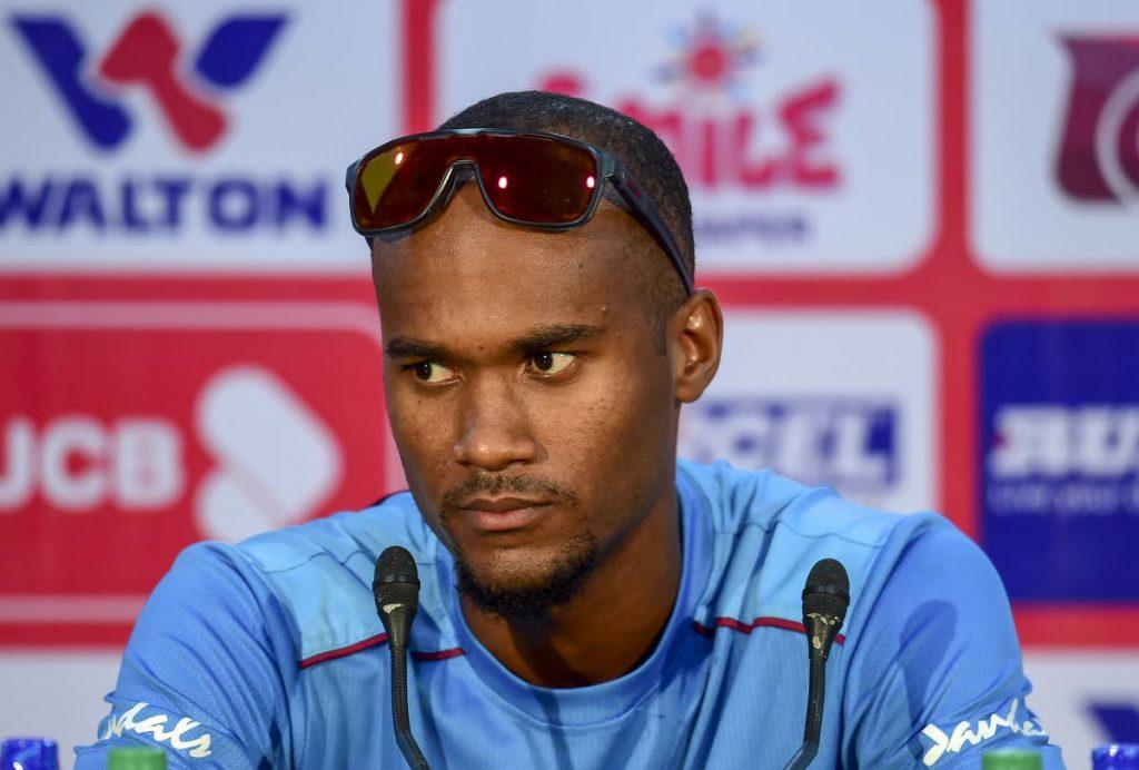 West Indies Test captain  Kraigg Brathwaite.  -