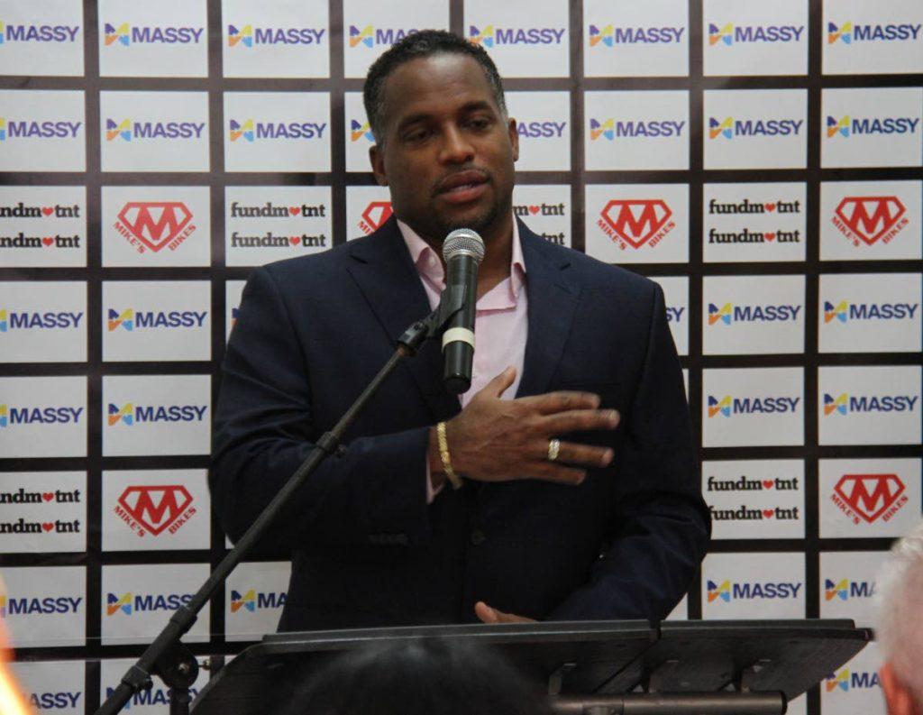 Sprint legend Trinidad and Tobago's Ato Boldon -