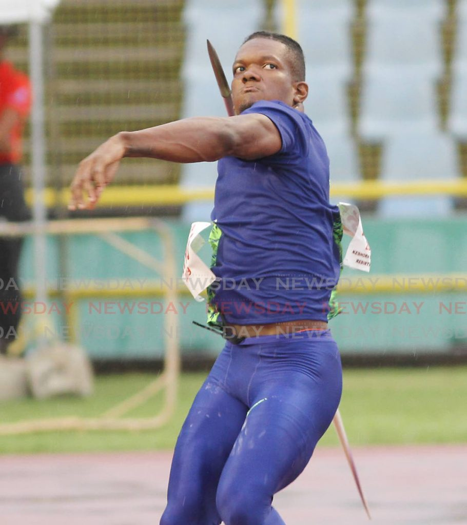 Two-time Olympic medallist Keshorn Walcott. - Photo by Angelo Marcelle
