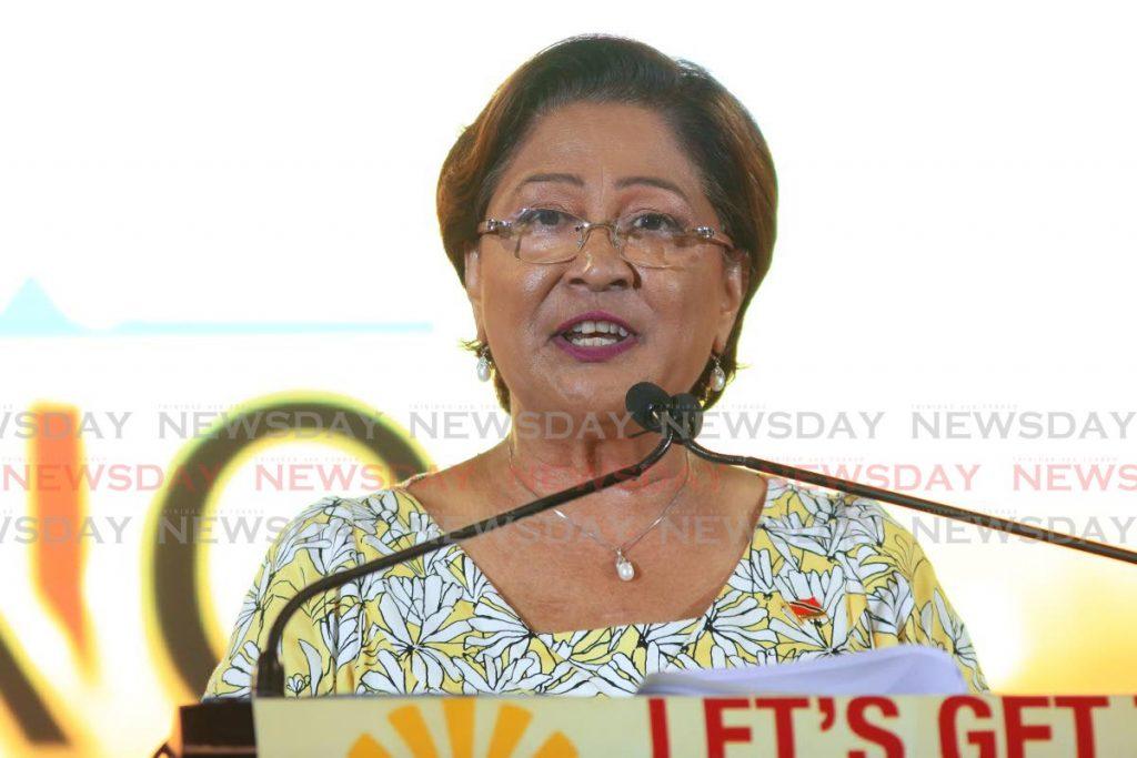 Opposition Leader Kamla Persad-Bissessar - Marvin Hamilton