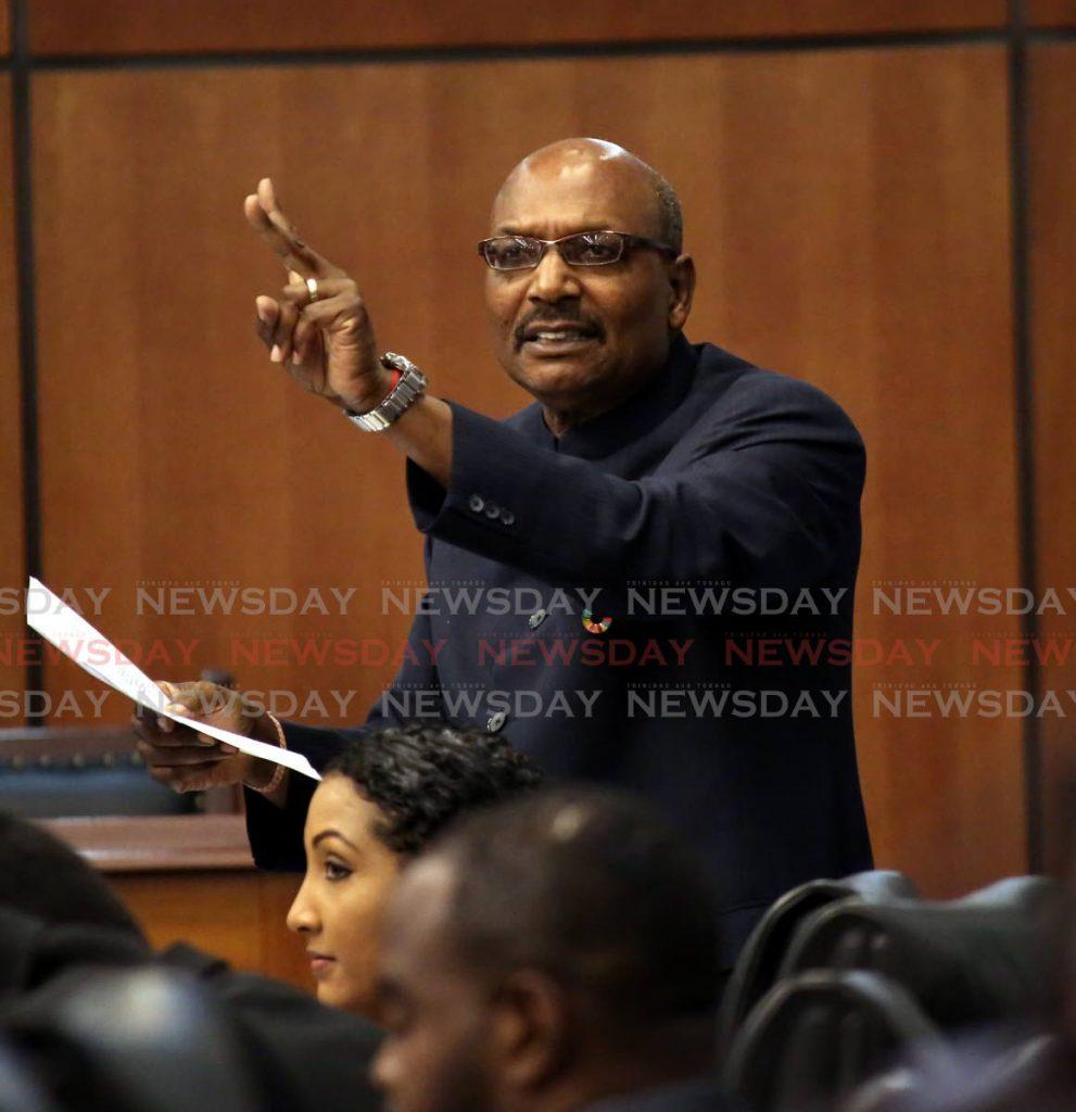 Opposition Senator Wade Mark. - Photo by Sureash Cholai