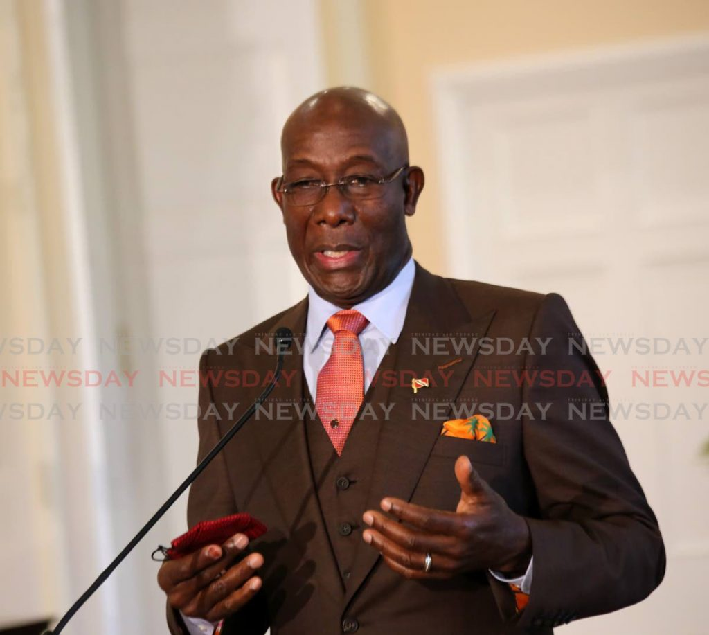 Prime Minister Dr Rowley -