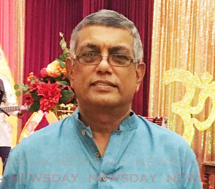 Vijay Maharaj.  -