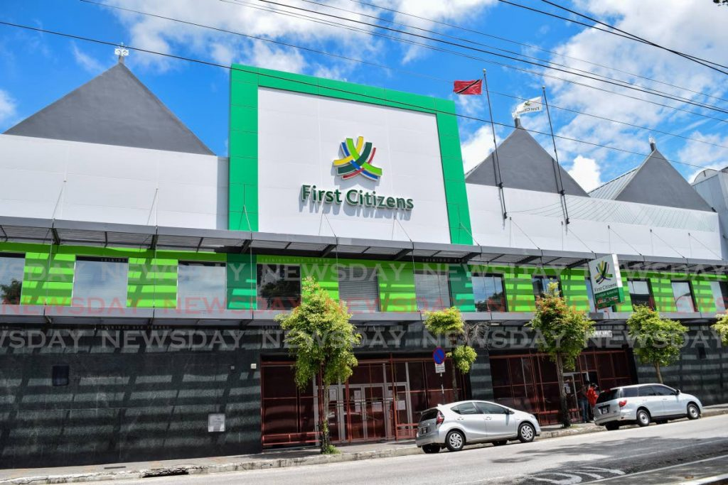First Citizens Bank, Independence Square, Port of Spain. - File photo