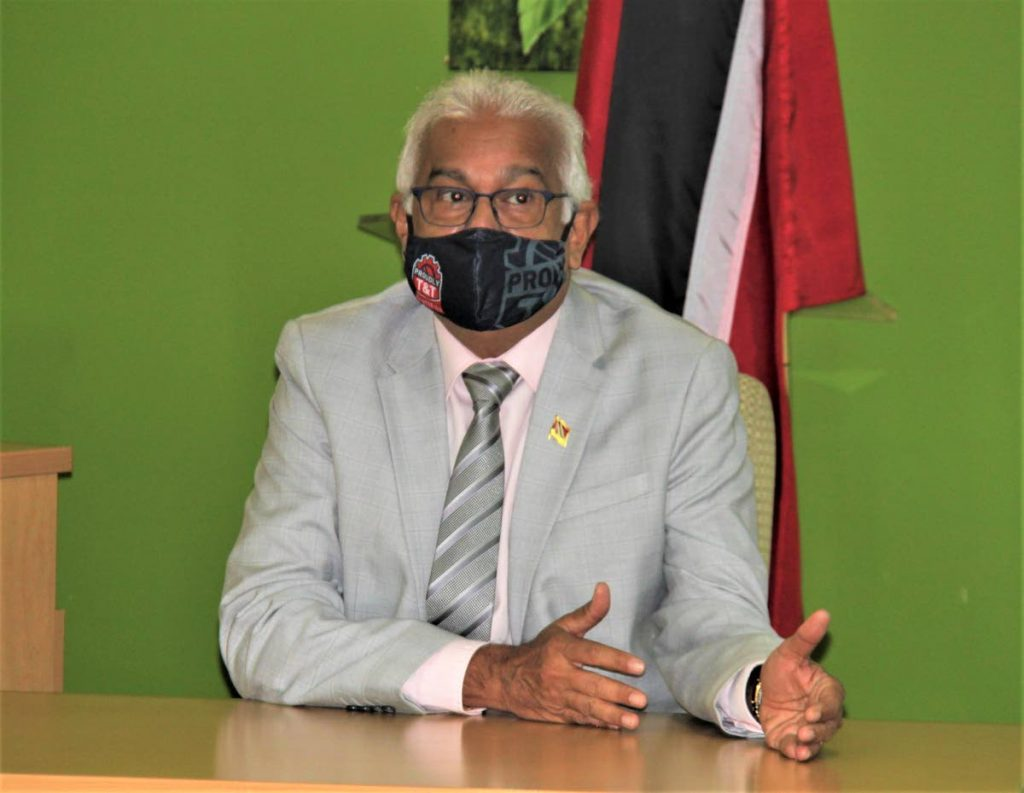 Minister of Health Terrence Deyalsingh  - Photo courtesy Ministry of Health