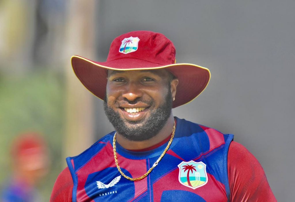 West Indies captain Kieron Pollard - CWI Media