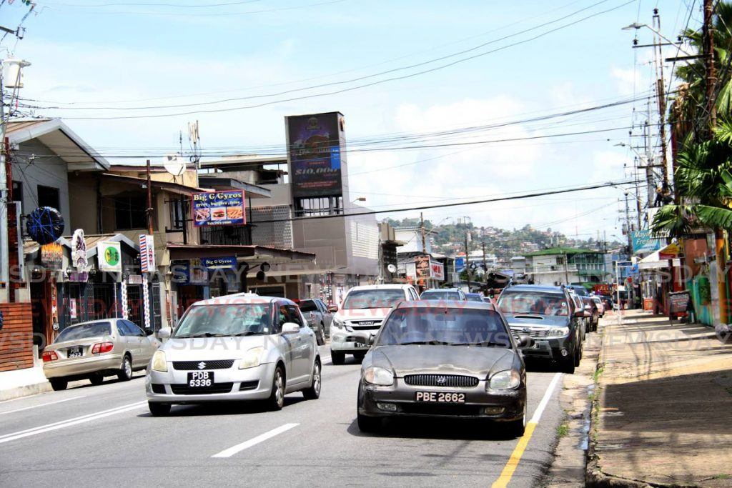 Ariapita Avenue in Woodbrook is part of the Port of Spain revitalisation plan. - File photo