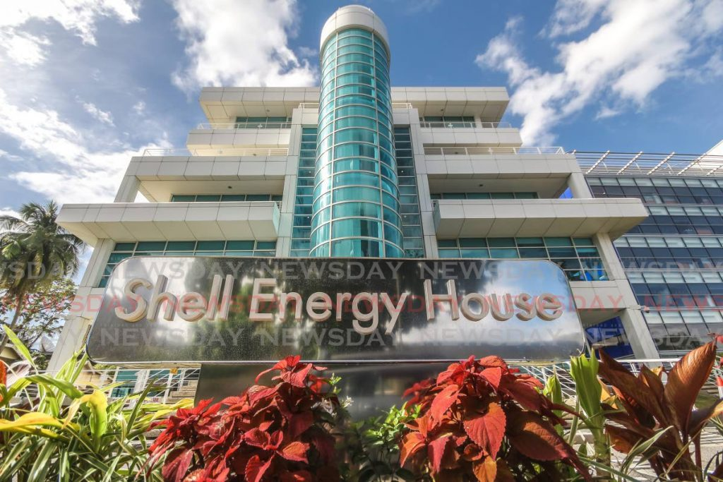 Shell Energy House, the headquarters of Shell Trinidad and Tobago Ltd, at St Clair Avenue, St Clair. Shell on Thursday announced the production of natural gas in the Barracuda block in Trinidad. File photo -