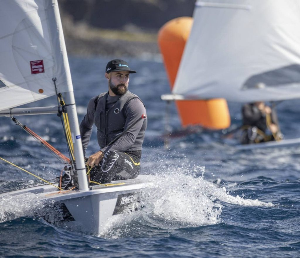 FILE PHOTO: Olympic sailor Andrew Lewis -