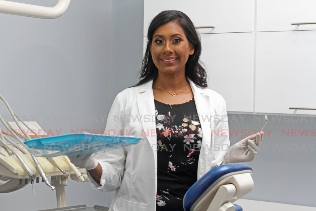 Dr Sita Ramnarine says dentistry is an amazing profession. 'You get the opportunity to boost confidence, to see people smile.' - Photo by Marvin Hamilton